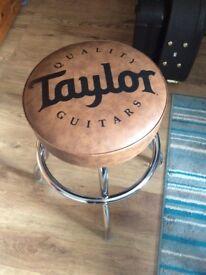 Taylor guitar Bar Stool