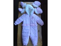 MAYORAL DESIGNER SNOWSUIT AGE 9 MONTHS ***IMMACULATE CONDITION***