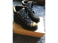 Wills Vegan Steel Toe Cap Boots