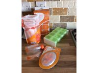 Koko weaning pots, pouches & spoons