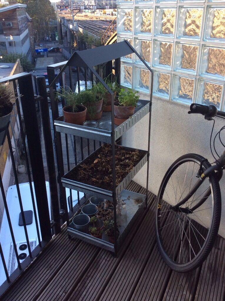 Ikea Krydda Vaxer Tier Plant Shelving Unit In Tower Bridge