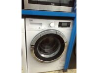 Beko white 10kg 1400 spin washing machine. A+++ energy rated. New/graded. 12 month Gtee