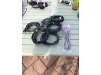 Assorted hdmi leads