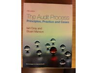 The Audit Process. Principles, Practice and Cases, 5th ed. Iain Gray and Stuart Manson