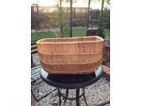 Large Wicket Basket for front ofBike