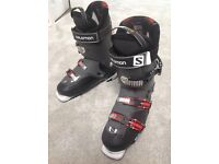 Solomon Quest 80 men's ski boots. Size 28.0. Good as new