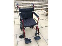 NOVA LIGHT WEIGHT WEELCHAIR