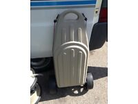 Portable water carrier and waste disposal unit