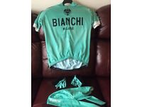 BIANCHI SHORT SLEEVED CYCLING TOP