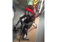 Child's backpack carrier/seat