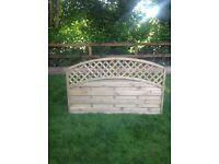 6'x4' Reinas Fence Panel