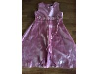 Girls Pink Party Dress Size 3-4 Years
