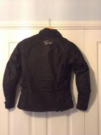Furygan Joy Ladies Motorcycle Jacket, Size Small