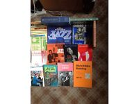 JAZZ BOOKS COLLECTION 15 ITEMS