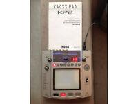 KORG KAOSS PAD 2 KP2 Dynamic Effect Sampler w/ Adapter