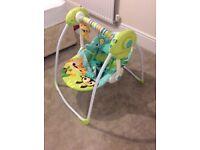 Babies safari rocking chair - unused