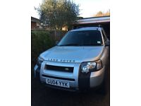 Freelander TD4 low mileage and full history
