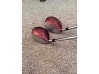 Golf clubs king cobra and Taylor made