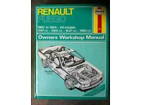 Haynes Manual For Renault Fuego 80-84