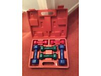 Ladies dumbbell set for sale