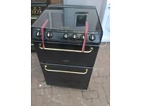 black hot point gas cooker 60cm..Cheap free delivery