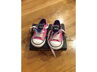 Infant size 5 Converse