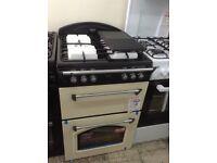 Leisure gourmet gas cooker. 60cm. Cream. £349 RRP £549. New/graded 12 month Gtee