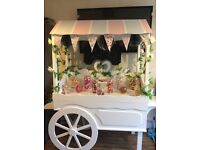 LARGE SWEET CART FOR HIRE by Scrumdiddlyumptious