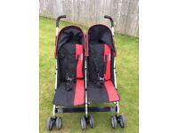 Double Buggy Black and Red