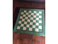 Vintage style chess board