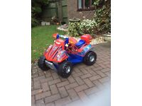 Child's Re-chargeable Quad Bike.