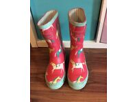Joules Girls Wellies Size 13