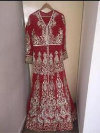 Designer bridal lengha dress