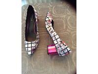 New m&s ladies shoes size 7