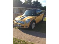 Mini Cooper 1.6 Chilli Edition yellow low mileage