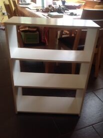 Small free standing book shelf