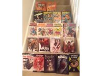Collection of comic books and comics