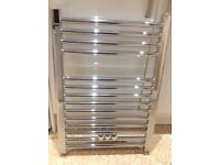 Towel radiator 500 x 700 complete with fixings.