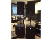 Electro-voice PA System Full Package