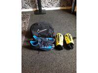 Nike size 10 football boots