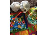 Baby boy clothes, Play Gym, Bouncer
