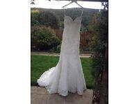 Strapless Wedding Dress, by Ronald Joyce