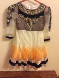 Girls anrkali dress size 26