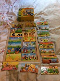 Children's jigsaws, games etc