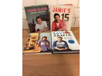 4 x Jamie Oliver Cookery Books