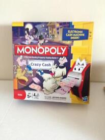 Credit monopoly/ battle ship board games