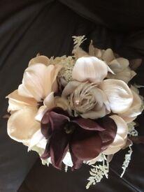 Beautiful bride bouquet