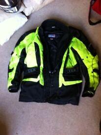 TexPeed hi-vis motorcycle jacket Medium