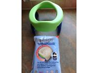 Brand new Travel potty and disposable liners