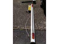 7 ft long Aliminium motorhome / camber van rear bumper with lights